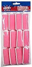 Парфюми, Парфюмерия, козметика Ролки за коса 25/70 мм, розови - Ronney Wave Foam Rollers