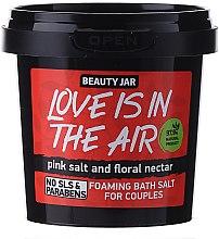 """Пенещи се соли за вана за двойки с флорален нектар """"Love Is In The Air"""" - Beauty Jar Foaming Bath Salt — снимка N1"""