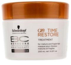 Парфюми, Парфюмерия, козметика Маска за коса с Q10 - Schwarzkopf Professional BC Bonacure Time Restore Q10 Plus Treatment