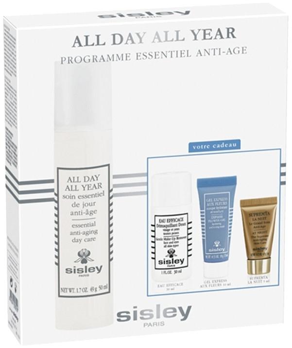 Комплект за лице - Sisley All Day All Year (cr/50ml + remover/30ml + mask/10ml + cr/ser/5ml) — снимка N1