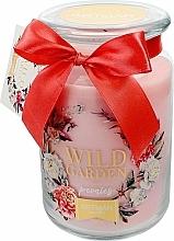 Парфюмерия и Козметика Ароматна свещ, 10х16 см., 700г. - Artman Wild Garden Peonies