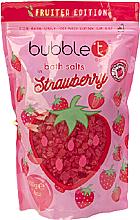 Парфюмерия и Козметика Соли за вана с аромат на ягода - Bubble T Cosmetics Strawberry Bath Salt