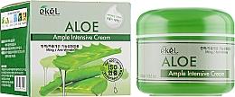 Парфюмерия и Козметика Интензивен крем за лице с екстракт от алое - Ekel Ample Intensive Cream Aloe