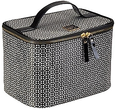 Парфюмерия и Козметика Козметична чанта - Auri Simple Black & White Makeup Case