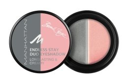 Парфюмерия и Козметика Кремообразни сенки за очи - Manhattan Eyeshadow Duo Endless Stay Creamy