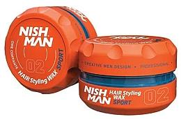 Парфюмерия и Козметика Стилизираща вакса за коса - Nishman Hair Styling Wax 02 Sport