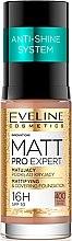 Парфюми, Парфюмерия, козметика Матиращ флуид - Eveline Cosmetics Matt Pro Expert