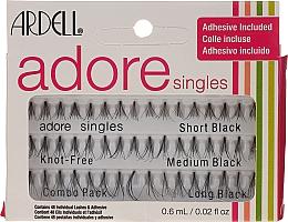Парфюмерия и Козметика Комплект мигли на снопчета - Ardell Adore Singles