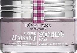 Парфюмерия и Козметика Успокояваща маска за лице - L'Occitane Soothing Mask