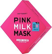 Парфюми, Парфюмерия, козметика Маска за лице - Duft & Doft Pink Milk Mask Tone Up+ Radiance