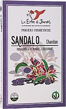 Парфюмерия и Козметика Натурален прах от сандалово дърво - Le Erbe di Janas Sandalo