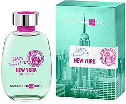 Парфюми, Парфюмерия, козметика Mandarina Duck Let's Travel To New York For Woman - Тоалетна вода