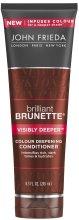 Парфюмерия и Козметика Балсам подходящ за тъмни коси - John Frieda Brilliant Brunette Visibly Deeper Conditioner