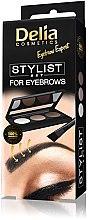 Парфюми, Парфюмерия, козметика Палитра за вежди - Delia Cosmetics Eyebrow Expert Stylist Set