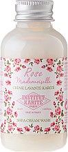 Парфюмерия и Козметика Душ крем за тяло с масло от ший и аромат на роза - Institut Karite Rose Mademoiselle Shea Cream Wash (мини)