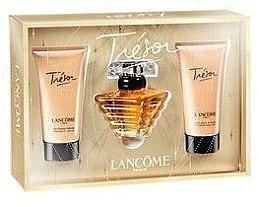 Парфюми, Парфюмерия, козметика Lancome Tresor - Комплект (edp/50ml + sh/gel/50ml + b/l/50ml)