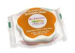 """Парфюмерия и Козметика Трвърд шампоан за суха коса """"Червена глина"""" - Ma Provence Shampoo"""