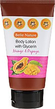 Парфюми, Парфюмерия, козметика Лосион за тяло - Belle Nature Body Lotion With Mango & Papaya