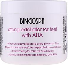Парфюмерия и Козметика Силно ексфолиращ продукт за крака - BingoSpa Strong Exfoliant for Feet with AHA