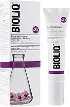 Парфюми, Парфюмерия, козметика Изглаждащ крем за околоочна зона и устни, повишаващ еластичността - Bioliq 45+ Firming And Smoothening Eye And Mouth Cream