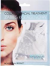 Парфюмерия и Козметика Колагенова маска с екстракт от перли - Beauty Face Collagen Hydrogel Mask