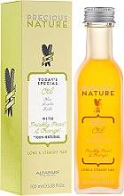 Парфюмерия и Козметика Масло за права и дълга коса - Alfaparf Precious Nature Oil For Long & Straight