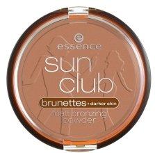 Парфюми, Парфюмерия, козметика Бронзираща пудра - Essence Sun Club Matt Bronzing Powder