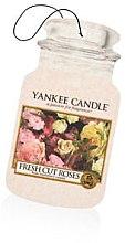 """Парфюми, Парфюмерия, козметика Ароматизатор """"Свежи рози"""" - Yankee Candle Fresh Cut Roses Jar Ultimate"""