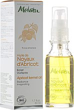 Парфюмерия и Козметика Масло от кайсиеви ядки за лице - Melvita Huiles De Beaute Apricot Kernel Oil