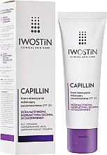Парфюмерия и Козметика Укрепващ нощен крем за лице - Iwostin Capillin Intensive Cream SPF 20