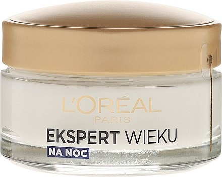 Нощен крем за лице - L'Oreal Paris Age Specialist Expert Night Cream 50+ — снимка N2
