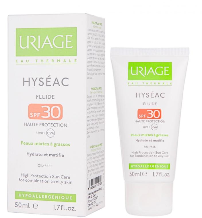 Слънцезащитен флуид за лице SPF 30 - Uriage Hyseac SPF 30 Fluid — снимка N1