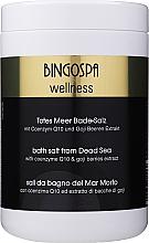Парфюмерия и Козметика Спа сол от Мъртво море с коензим Q10 и екстракт от годжи бери - BingoSpa Salt For Bath SPA of Dead Sea