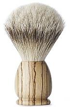 Парфюмерия и Козметика Четка за бръснене, голяма - Acca Kappa Apollo Zebrawood Shaving Brush