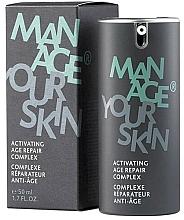 Парфюмерия и Козметика Активен подмладяващ комплекс за лице - Dr. Spiller Manage Your Skin Activating Age Repair Complex