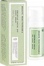 Парфюмерия и Козметика Нощен крем за лице с екстракт от еделвайс - Beaute Mediterranea Edelweiss Facial Bio Night Cream