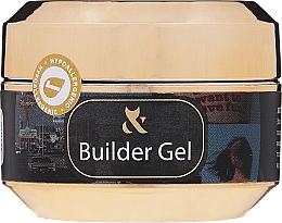 Парфюмерия и Козметика Гел за нокти в бял цвят - F.O.X Builder White Gel