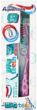 Парфюмерия и Козметика Комплект за зъби - Aquafresh My Big Teeth (паста/50ml + четка/1бр)