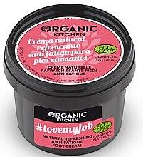 """Парфюми, Парфюмерия, козметика Освежаващ крем за крака """"Обичам моята работа"""" - Organic Shop Organic Kitchen Foot Cream"""