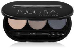 Парфюмерия и Козметика Палитра за вежди - NoUBA Eyebrow Powder Kit