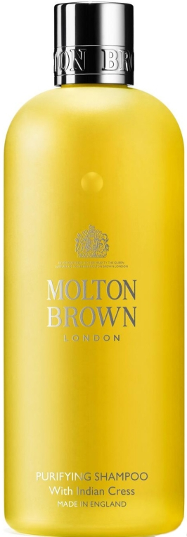 Шампоан за коса с екстракт от кресон - Molton Brown Purifying Shampoo With Indian Cress