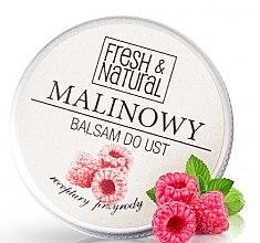 Парфюми, Парфюмерия, козметика Балсам за устни с малина - Fresh&Natural Lip Balm