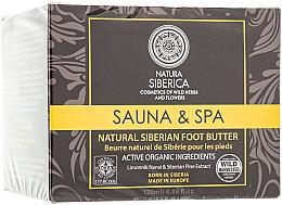 """Парфюмерия и Козметика Натурално гъсто сибирско масло за крака """"Сауна и Спа"""" - Natura Siberica"""