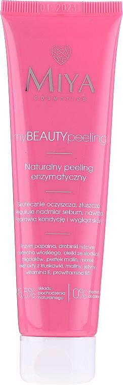 Натурален ензимен пилинг за лице - Miya Cosmetics My Beauty Peeling