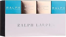 Парфюмерия и Козметика Ralph Lauren Mini Gift Set For Women - Комплект (тоал. вода/2x7ml + парф. вода/2x7ml)