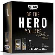 Парфюми, Парфюмерия, козметика STR8 Hero - Комплект (афтършейв/50ml + дезодорант/150ml)