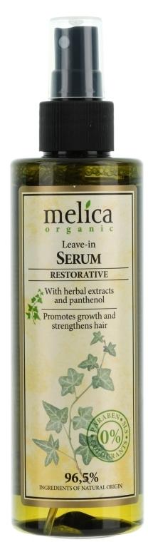 Укрепващ серум за коса - Melica Organic Leave-in Restorative Serum