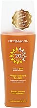 Парфюмерия и Козметика Водоустойчиво слънцезащитно мляко - Dermacol Sun Water Resistant Milk Spray SPF20
