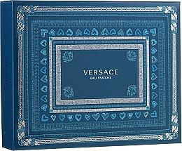 Парфюмерия и Козметика Versace Man Eau Fraiche - Комплект (тоал. вода/50ml + душ гел/ 50ml + афтър.балсам/ 50ml)