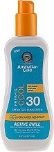 Парфюмерия и Козметика Слънцезащитен спрей - Australian Gold Sunscreen Spf 30 X-Treme Sport Spray Gel Active